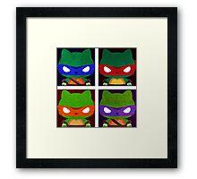 Teenage Mutant Ninja Kitties Framed Print