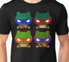 Teenage Mutant Ninja Kitties Unisex T-Shirt