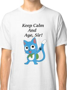 Fairy Tail Happy Aye, Sir! Classic T-Shirt