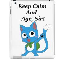 Fairy Tail Happy Aye, Sir! iPad Case/Skin