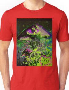 Psychedelic Mushroom Love Unisex T-Shirt