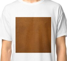 BROWN LEATHER Classic T-Shirt