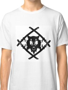 xavier wulf hollow squad BW Classic T-Shirt