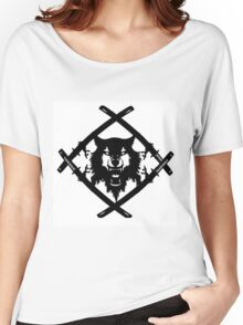 xavier wulf hollow squad BW Women's Relaxed Fit T-Shirt