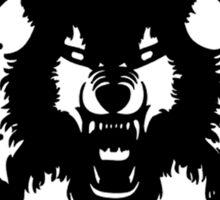 xavier wulf hollow squad BW Sticker