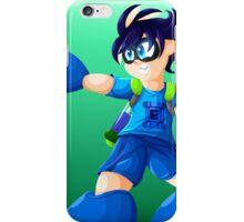 Splatoon Mega Man iPhone Case/Skin