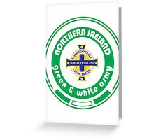 Euro 2016 Football - Team Northern Ireland Greeting Card