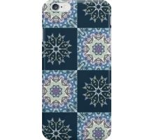 handdrawn abstract winter pattern iPhone Case/Skin