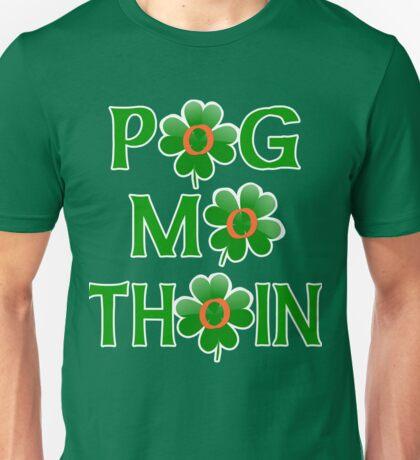 POG MO THOIN with Shamrocks Unisex T-Shirt
