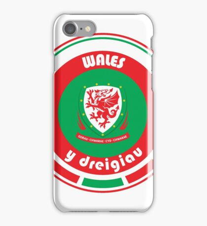 Euro 2016 Football - Team Wales iPhone Case/Skin