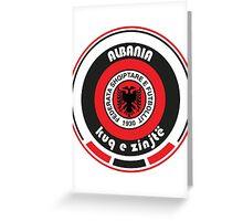 Euro 2016 Football - Team Albania Greeting Card