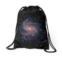 Fireworks Galaxy Drawstring Bag