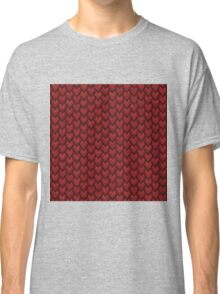 RED REPTILE SKIN Classic T-Shirt
