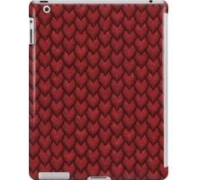 RED REPTILE SKIN iPad Case/Skin