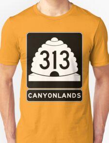 Utah 313 - Canyonlands National Park Unisex T-Shirt