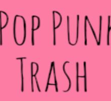 Pop Punk Trash Sticker