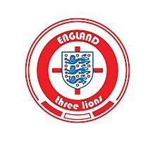 Euro 2016 Football - Team England Photographic Print