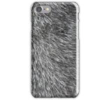 GREY WOLF FUR iPhone Case/Skin