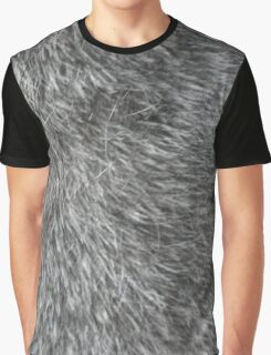 GREY WOLF FUR Graphic T-Shirt