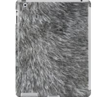 GREY WOLF FUR iPad Case/Skin