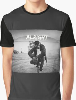 Kendrick Lamar - Alright (Music Video) Graphic T-Shirt