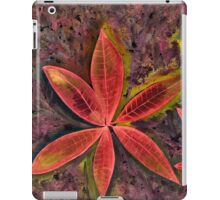 Wishing you a Merry Christmas with Poinsettias 2 iPad Case/Skin