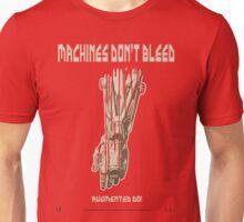 Deus Ex: Machines Don't Bleed Poster Unisex T-Shirt