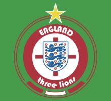 World Cup Football 6/8 - Team England One Piece - Short Sleeve