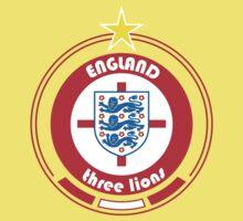 World Cup Football 6/8 - Team England Kids Tee