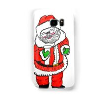 SANTA'S CHECKING HIS LIST Samsung Galaxy Case/Skin