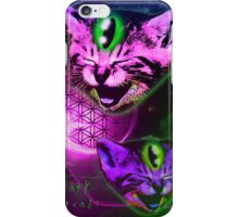 Cats of The Astral Plane  iPhone Case/Skin