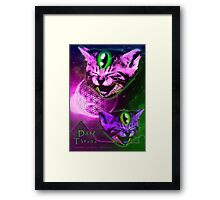 Cats of The Astral Plane  Framed Print