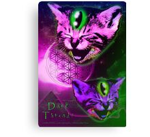 Cats of The Astral Plane  Canvas Print