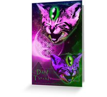 Cats of The Astral Plane  Greeting Card