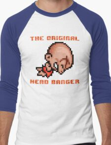 Bonk's Adventure original head banger Men's Baseball ¾ T-Shirt