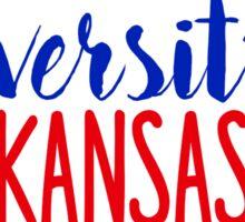 University of Kansas/KU Sticker