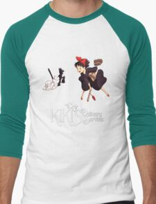 Kiki's Delivery Service-Studio Ghibli Men's Baseball ¾ T-Shirt