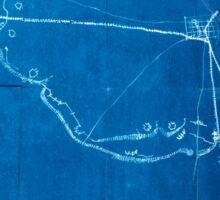 Civil War Maps 0595 Macon Geo 1864 Inverted Sticker