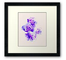 Dipped In Ink #redbubble #fashion #watercolor #home #tech Framed Print