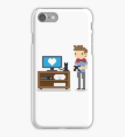 i love video games shirt! (console, pc) iPhone Case/Skin