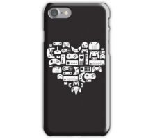 I heart gaming (graphic tees, mugs, and more!) iPhone Case/Skin