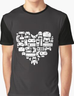I heart gaming (graphic tees, mugs, and more!) Graphic T-Shirt