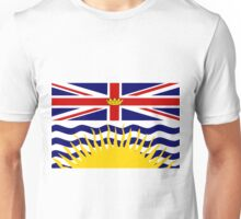 British Columbia Flag Unisex T-Shirt