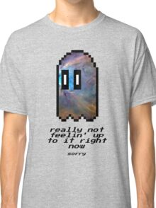 Undertale - Here Comes Napstablook (Alternate) Classic T-Shirt