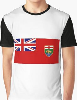 Manitoba Flag Graphic T-Shirt