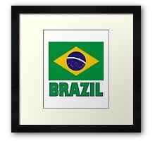 The Pride of Brazil Framed Print