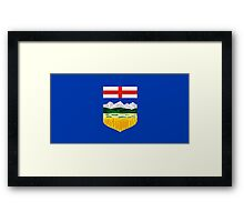 Alberta Flag Framed Print