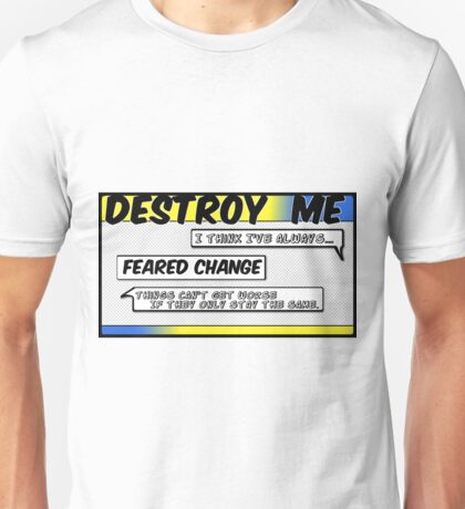 Destroy Me - Wolf Alice - Comic Style Unisex T-Shirt