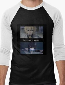 Owari No Seraph(Seraph Of The End) - I'll Save You Men's Baseball ¾ T-Shirt
