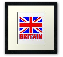 The Pride of Britain Framed Print